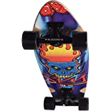 """BLUESCRATTE 28"""" Cruiser Board Maple Complete Skateboard for Beginners and Professional"""