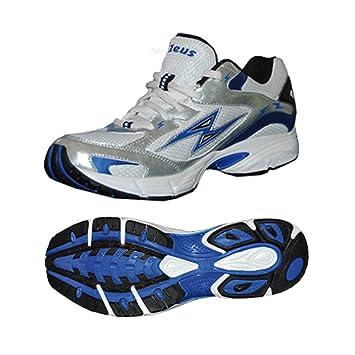 Zeus Dynamic Herren Schuhe Training Walking-Schuh Relax Weiss-Royal (41) AG6gJ