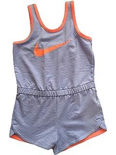 ca6574f59 Amazon.com: Nike Infant Toddler Girls Dri-Fit Sports Romper Dark ...