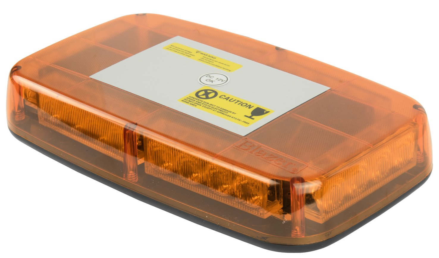 Blazer C4855AW Amber Low-Profile Warning Light Bar - Pack of 1