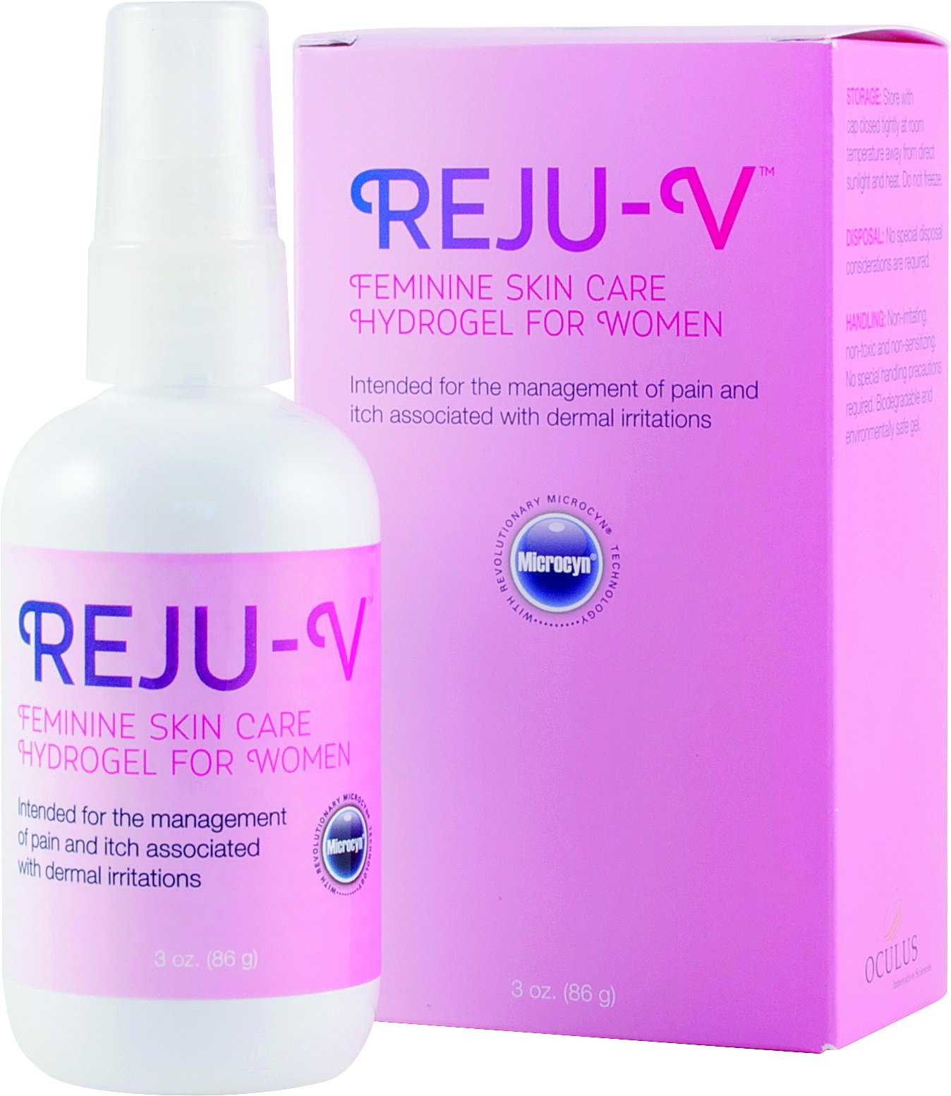 Reju-V Feminine Skin Care HydroGel for Women