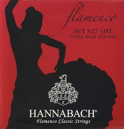 Hannabach 827SHT - Cuerdas para guitarra clásica 827SHT: Amazon.es ...
