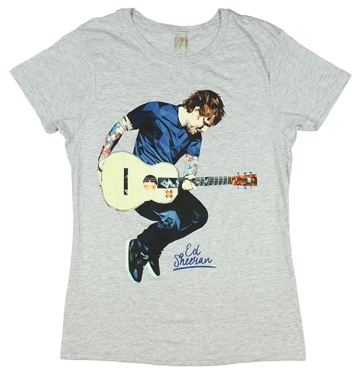 Amazon.com: Ed Sheeran Geometric Girls T-Shirt: Clothing