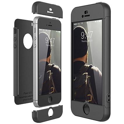 LCHDA Cover iPhone 7 Anello SupportoCustodia iPhone 8 con