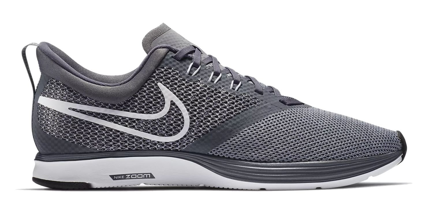NIKE Women's Zoom Strike D(M) Running Shoe B06XTKJBGP 7 D(M) Strike US|Dark Grey/White-stealth-black 10c286