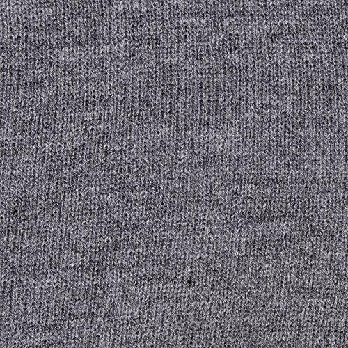 invierno diseño y beanie DonDon Gris de moderno abrigo gorro Platino clásico gorro de slouch suave APHEP08