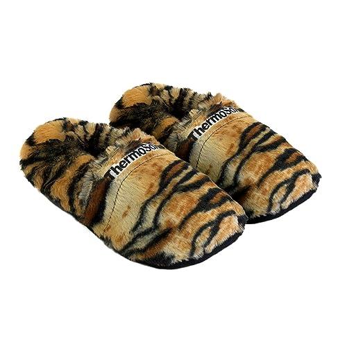 Zapatillas térmicas Pantuflas de granos para el microondas y el horno talla M / EU36-