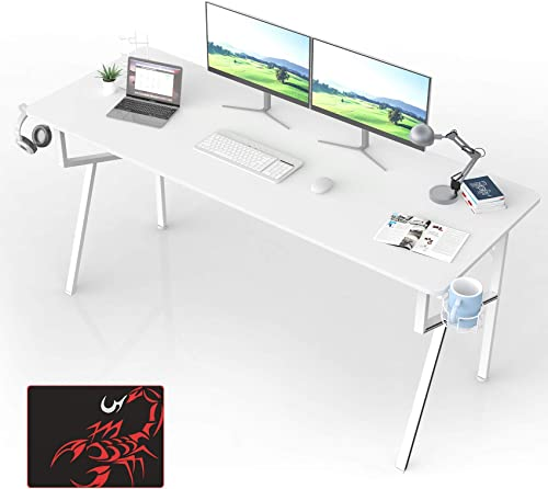 63 inch Home Gaming Computer Desk