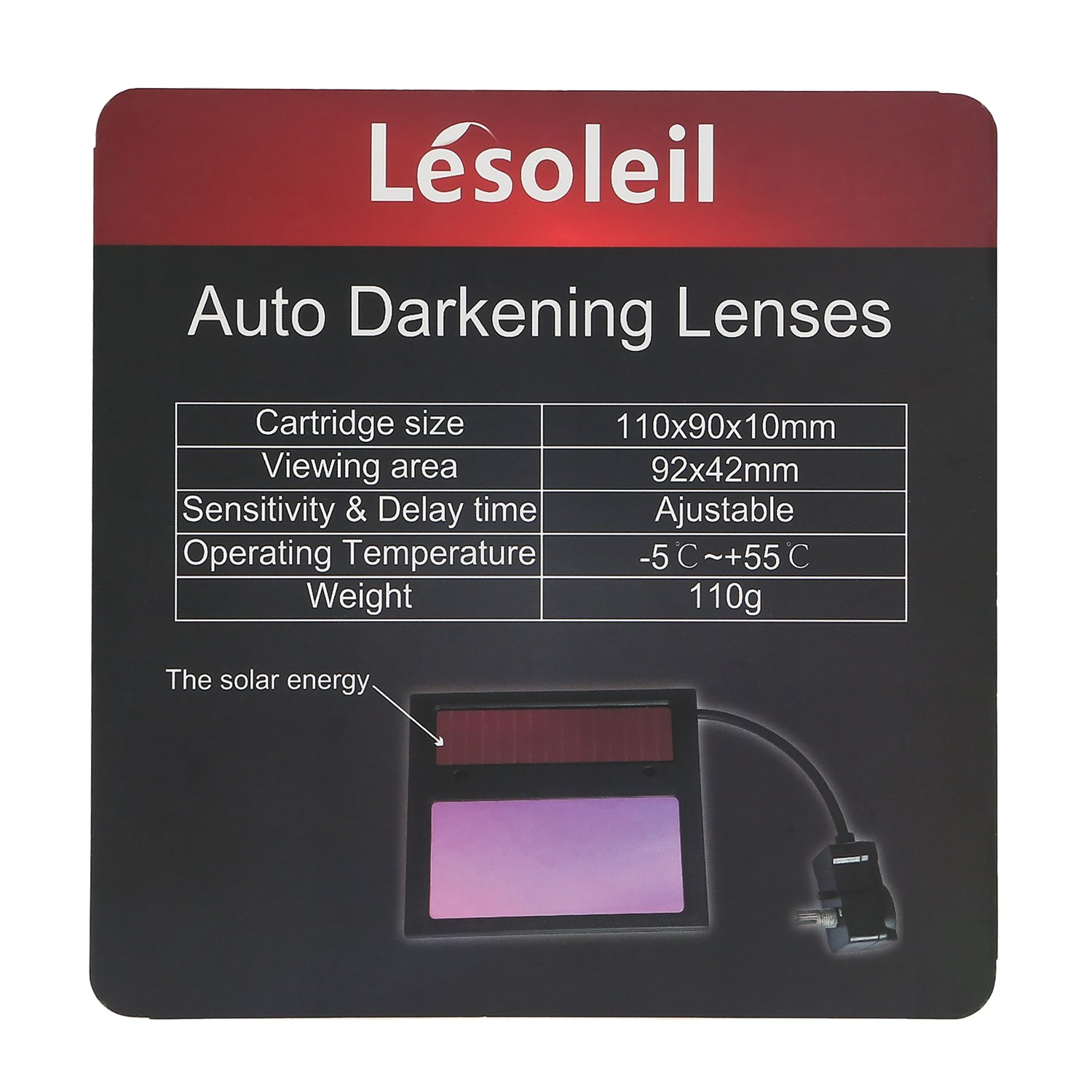 LESOLEIL Welding Helmet Replacement Lens, Auto-Darkening LCD Display - - Amazon.com