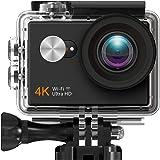 Vikyfly 4Kアクションカメラ WiFi スポーツカメラ 高画質 170度広角 2インチLCD 30M防水 SONYセンサー ウェアラブルカメラ アクションカム 防犯カメラ 色々なアクセサリー バイク/自転車/車に取り付け可能