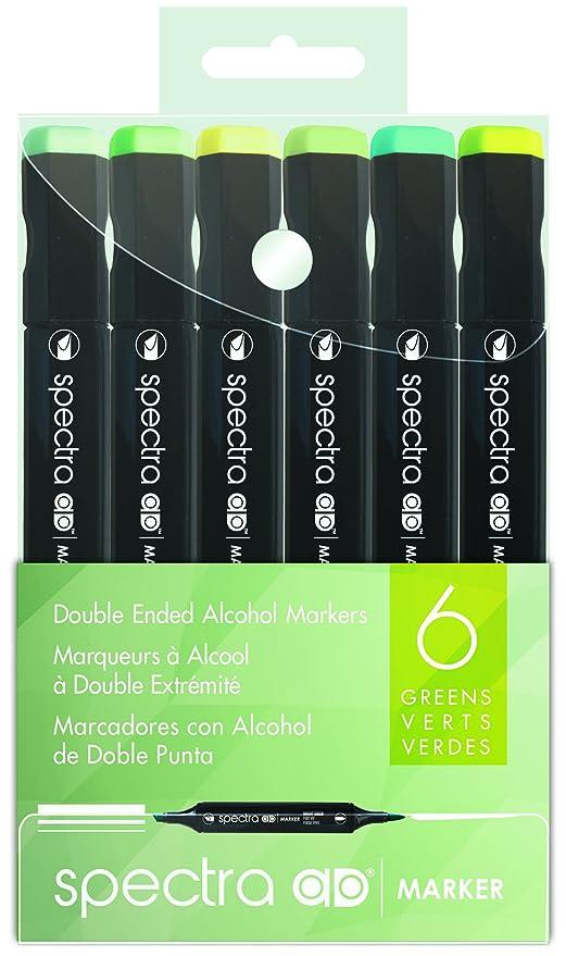 Amazon.com: Chartpak Spectra AD Marcador, punta triangular y ...