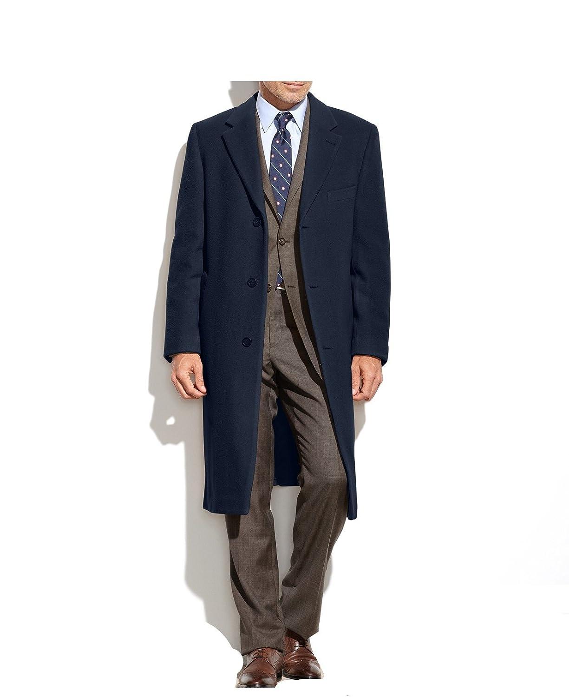 7b344498 Ralph Lauren Lauren Men's Topcoat Wool Cashmere Blend Columbia Overcoat -  Colors