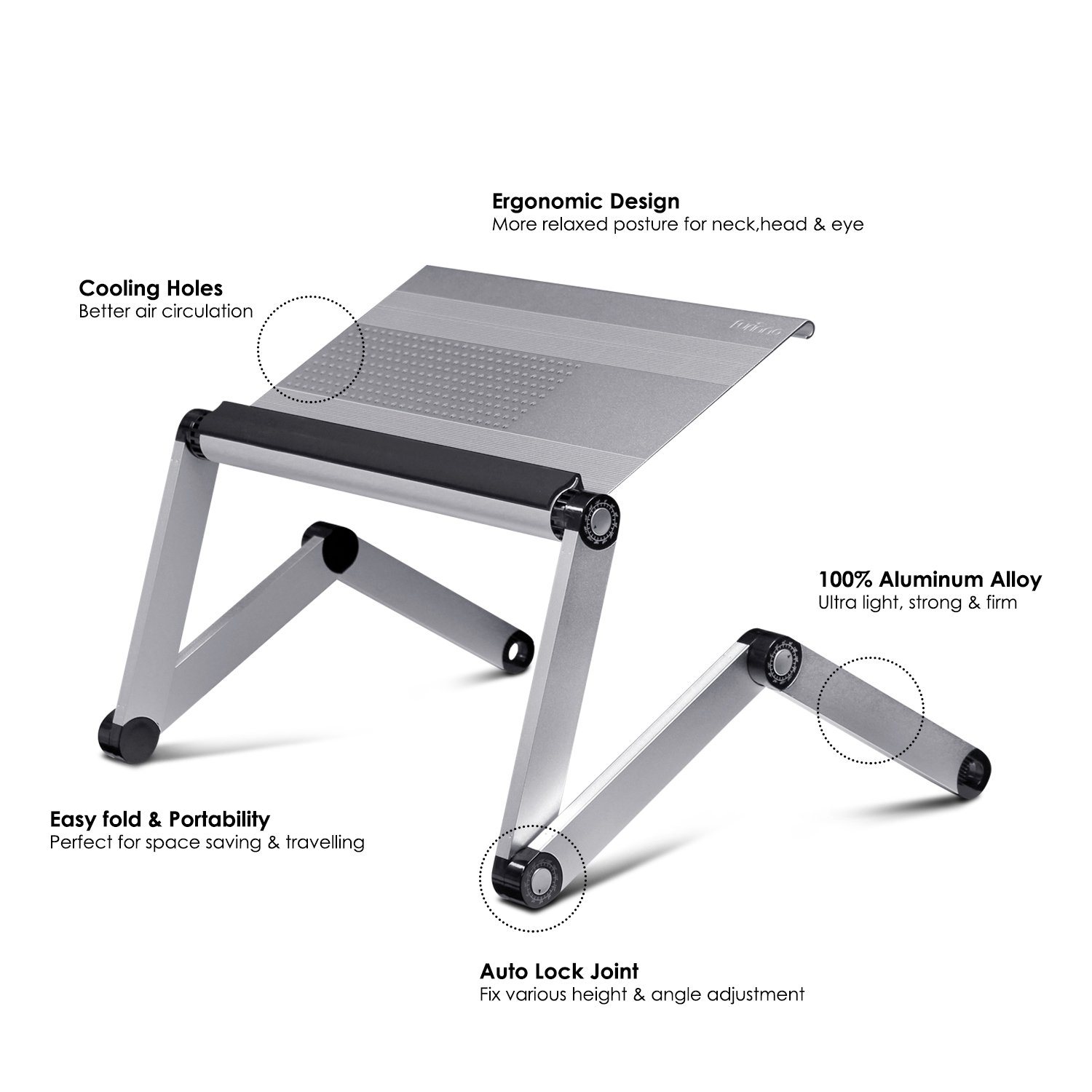 laptop folding holder standfolding home camping elegant tray for lapdesk adjustable portable party product ultideco at using reading stand bed bedsofaconvenience trayadjustable desk
