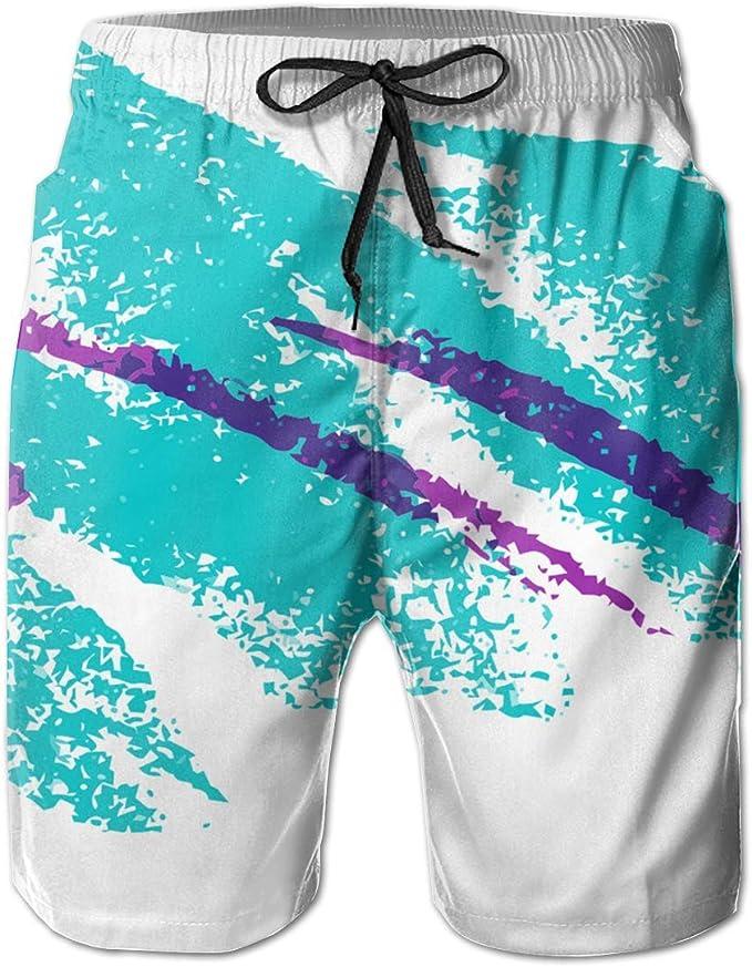 Awesome Sky Elements Kids Boys Fast Drying Beach Swim Trunks Pants