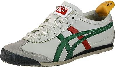 wholesale dealer 66774 f0599 Amazon.com | ASICS Men's Mexico 66, Birch/Green, 25 cm | Shoes