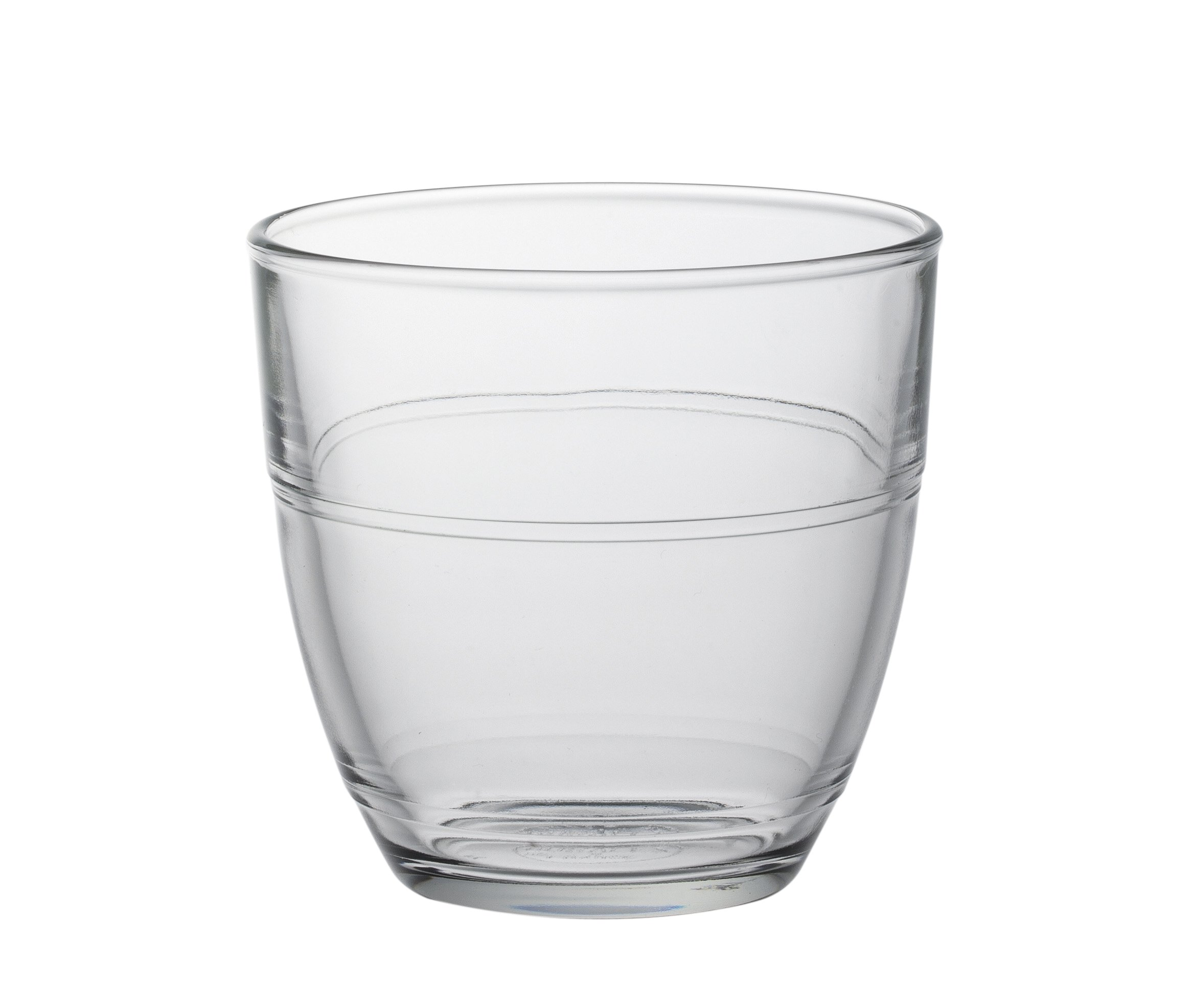 Duralex Set of 6 Tumblers, Clear, 7.75-Oz. by Duralex