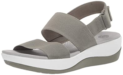 bf5bf426cacd Clarks Women s Arla Jacory Wedge Sandal  Buy Online at Low Prices in ...
