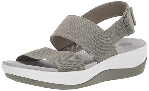 0bfaed43892a56 Clarks Women s Arla Jacory Wedge Sandal  Buy Online at Low Prices in ...
