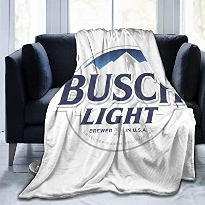 Qq15-kcdds-store Busch Light Ultra-Soft Micro Fleece Blanket Winter Lightweight Quilt Keep Warm Fabric Cute Blanket Bed Sofa Home Office: Home & Kitchen