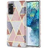 COANJIUO Painted Series Case for Samsung Galaxy S20 FE 5G, Women Ultra Thin Geometric Line Phone Cover for Samsung Galaxy S20