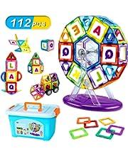 VOOPH マグネットブロック おもちゃ 磁気おもちゃ 磁石ブロック