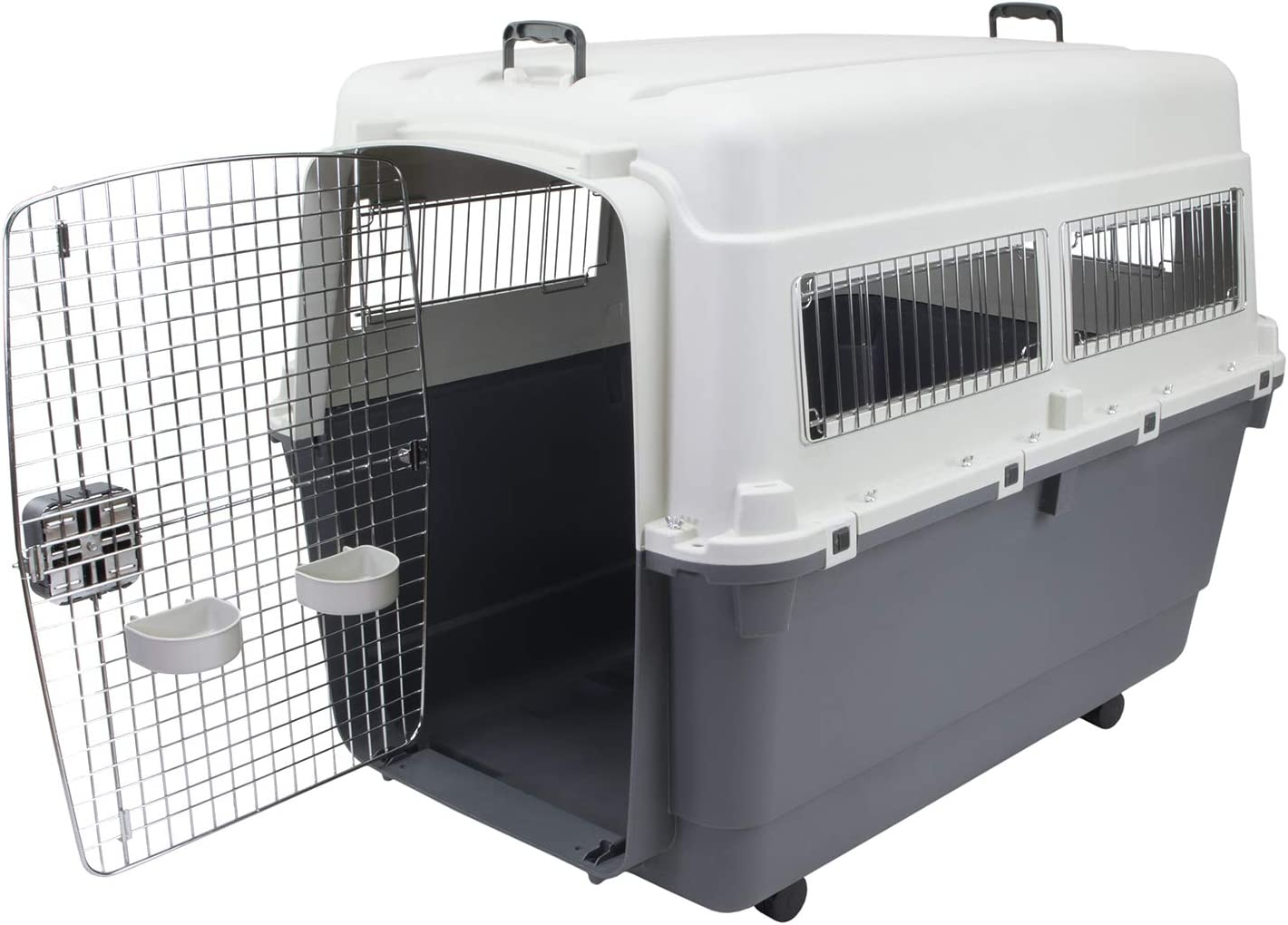 Chesapeake Bay Heavy-Duty Rolling Airline Pet Crate-XXX-Large