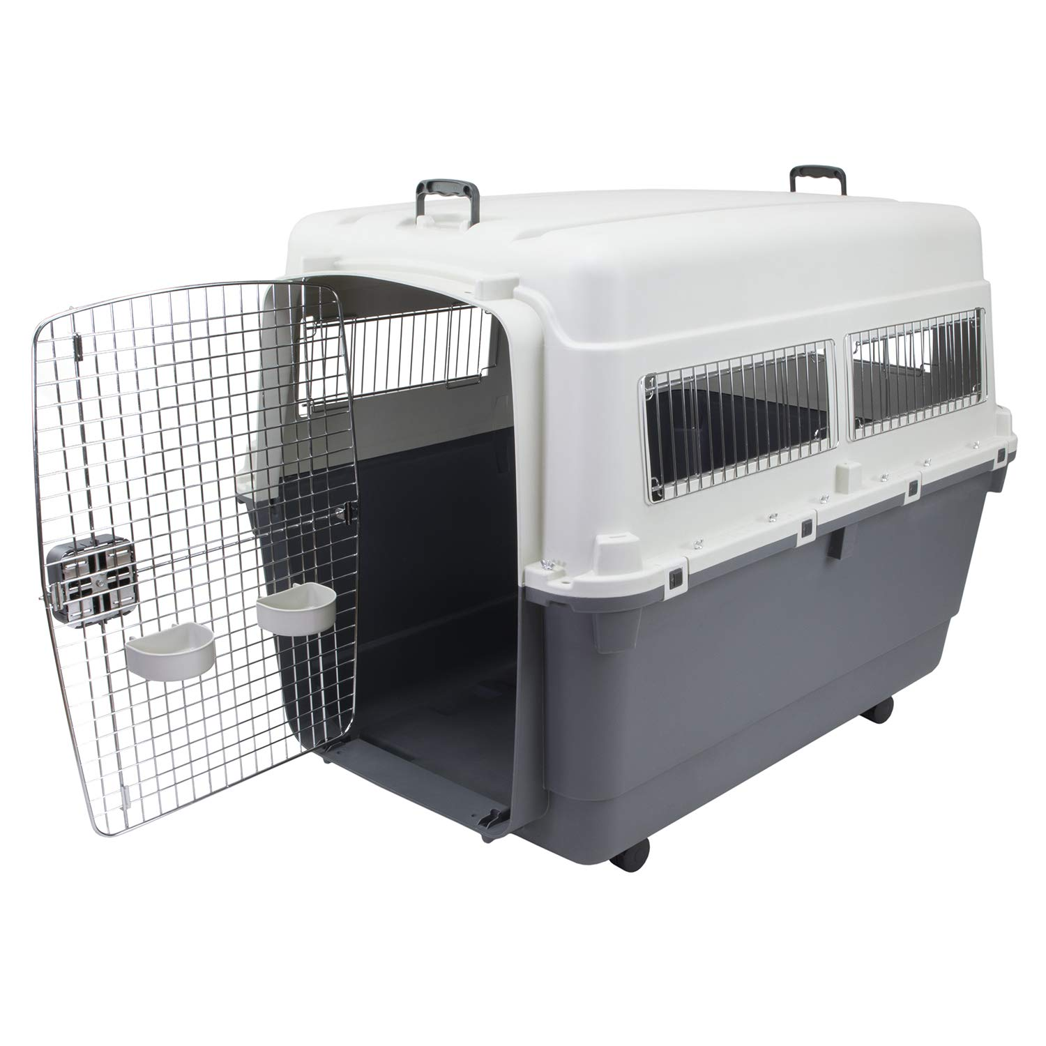 Chesapeake Bay Heavy-Duty Rolling Airline Pet Crate-XXX-Large by Chesapeake Bay