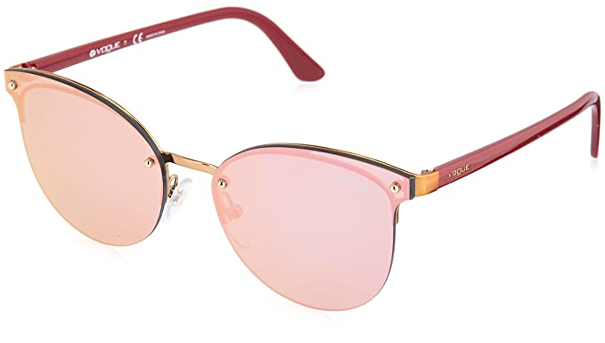 Vogue 0VO4089S Gafas de sol, Brushed Light Pink Gold, 60 ...