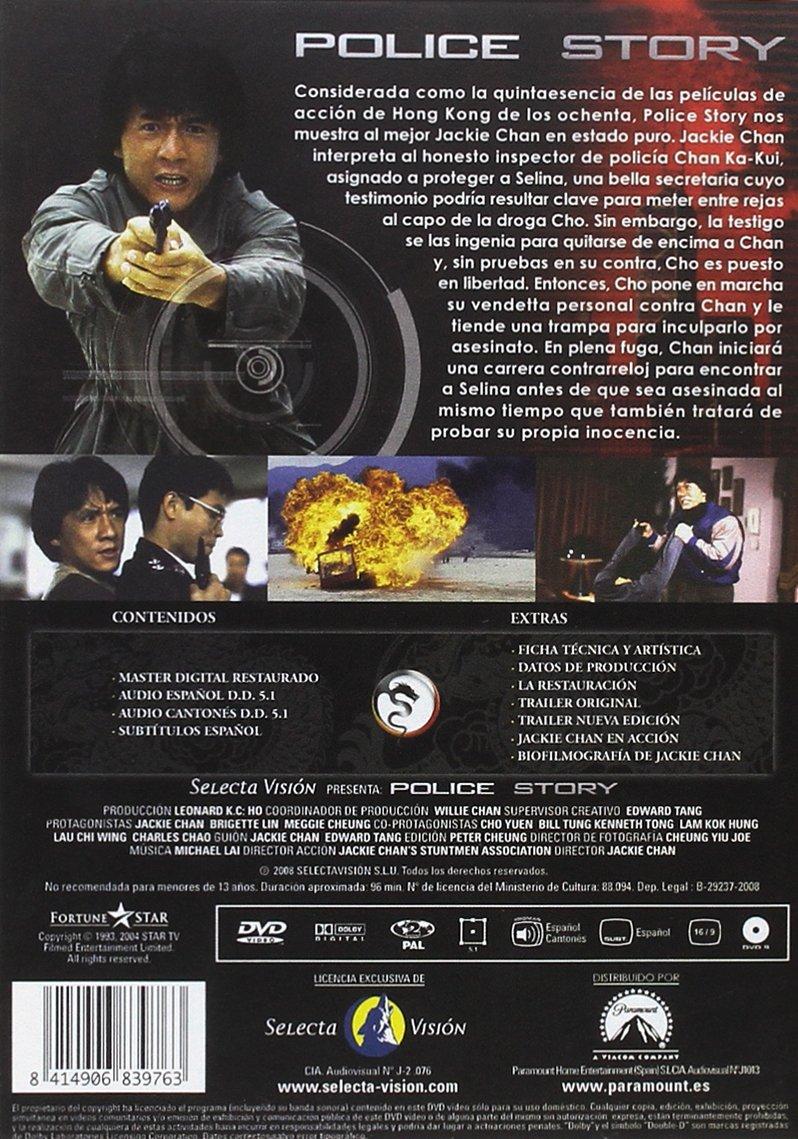 Police Story [DVD]: Amazon.es: JACKIE CHAN: Cine y Series TV