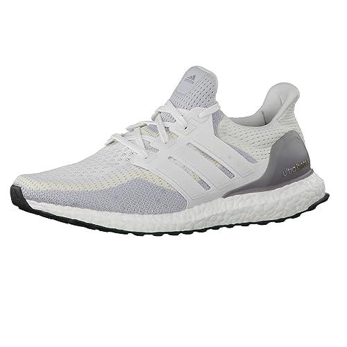adidas - Zapatillas de Atletismo de Material Sintético para Hombre Blanco FTWR White-Clear Grey s12- Core Black: Amazon.es: Zapatos y complementos