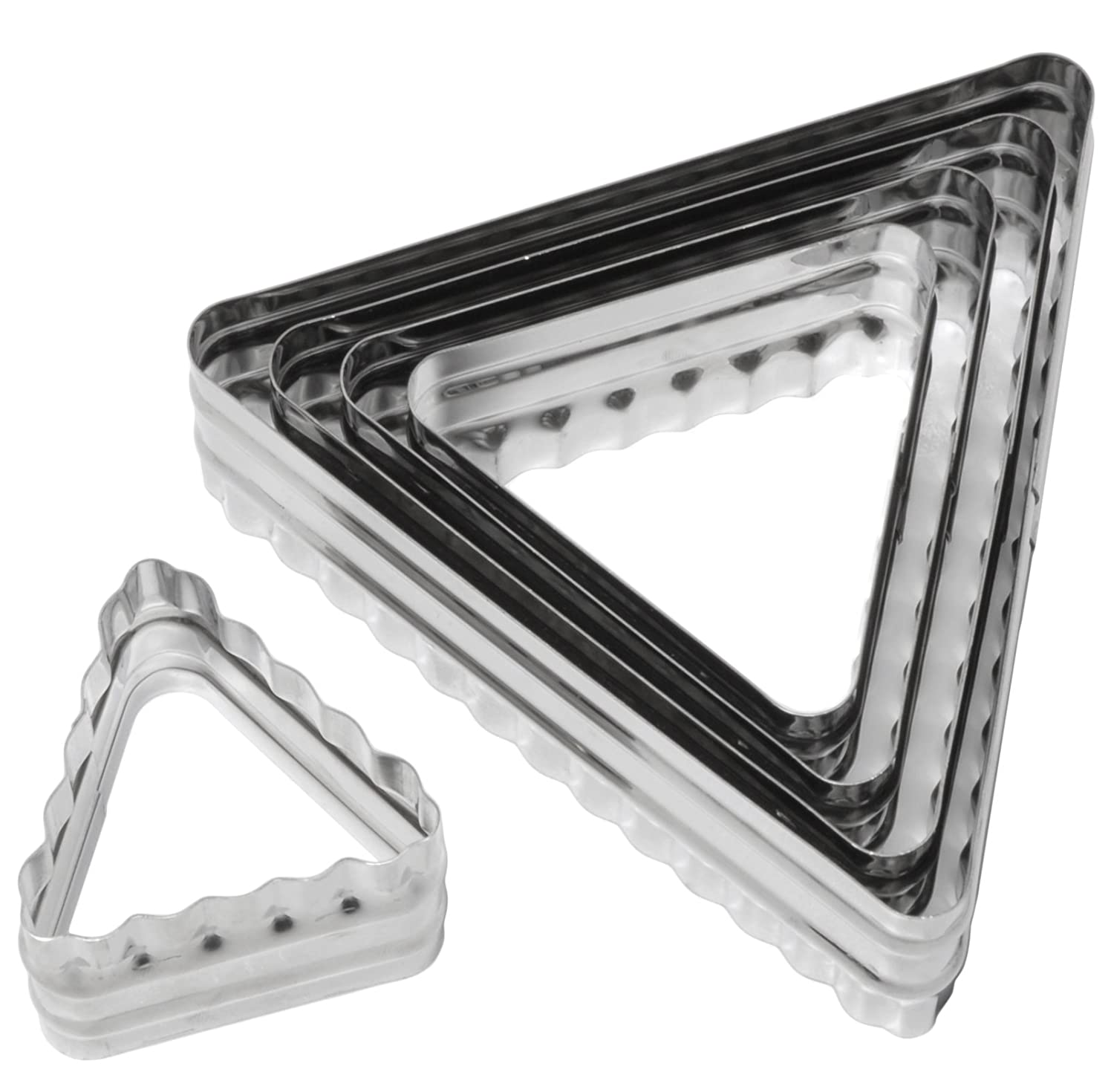 Ateco 52530 6-Piece Double Sided Square Cutter Set