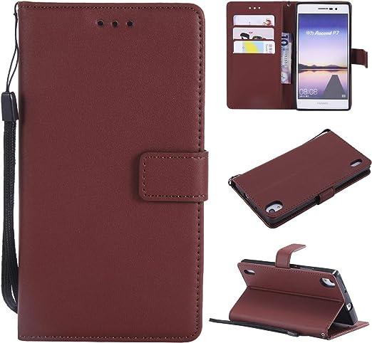 Amazon.com: Case for Huawei Ascend P7 P7-L10 P7-L00 Flip Leather ...