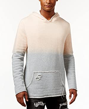 Jaywalker Men's Raw Edge Hoodie