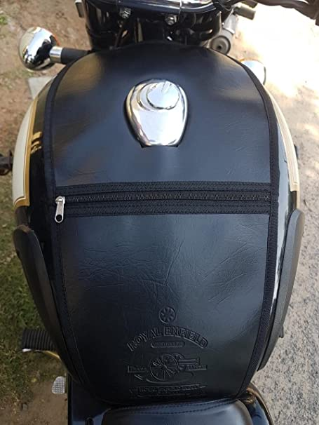 Sahara Cushion Seat Cover For Royal Enfield Classic 350 500 Foam Black Seat Cover Auto