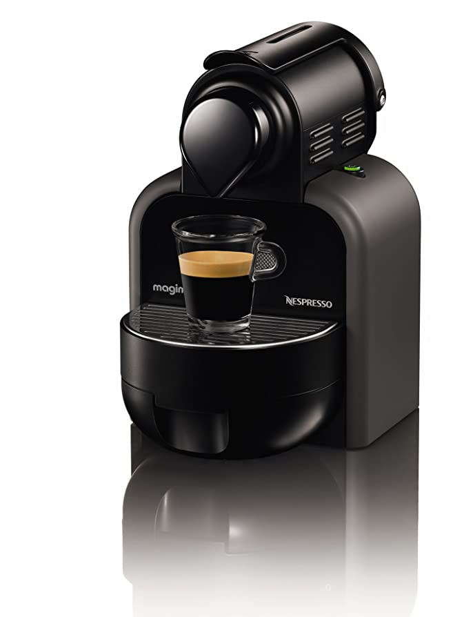 Nespresso Essenza Manual and Aeroccino by Magimix M100, Just Grey ...