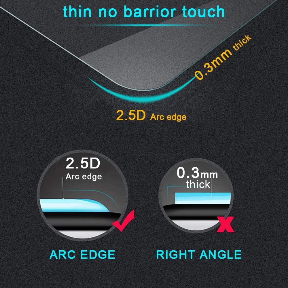 99mm Car Screen Tempered Film Navigation Screen Protector HD Clear 9H Hardness Anti-Fingerprint Anti-Scratch for Hyundai Tucson 8-Inch 175
