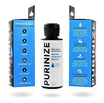 PURINIZE – La mejor y única solución de purificación de agua natural patentada – libre de