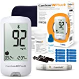 CareSens N Plus Bluetooth Blood Diabetes Monitoring Kit (Auto Coding) - 1 Glucose Meter with 100 Glucose Test Strips, 1…
