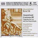 Orchesterwerke Vol. 5 (Cembalokonzerte Vol. 3: Originalwerke und Transkriptionen)