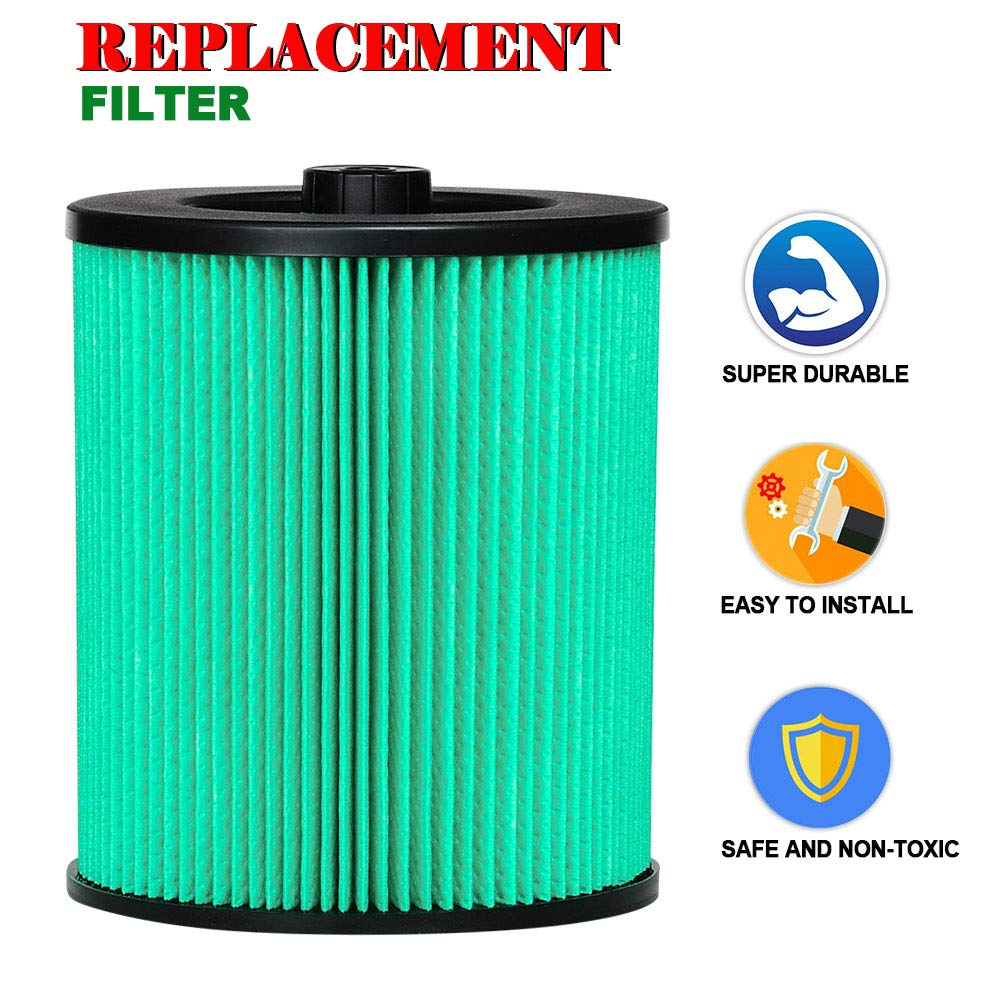High Efficiency Particle Air Filter HIFROM Replacement Air Filter for Craftsman 9-17912 917912 Wet Dry Vacuum Filter Shop Vac 5 gallons or Larger Pack of 1