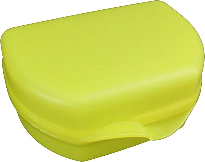 Tupperware Sandwichdose Sandwichbox grün Snackie Brotdose Lunchbox *NEU*