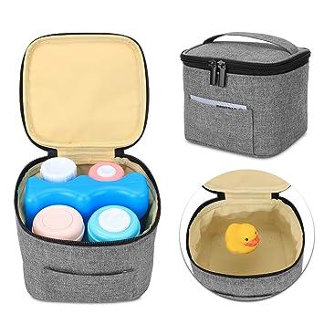 Luxja bolsa termica para leche materna y biberón (Sostenga 4 ...