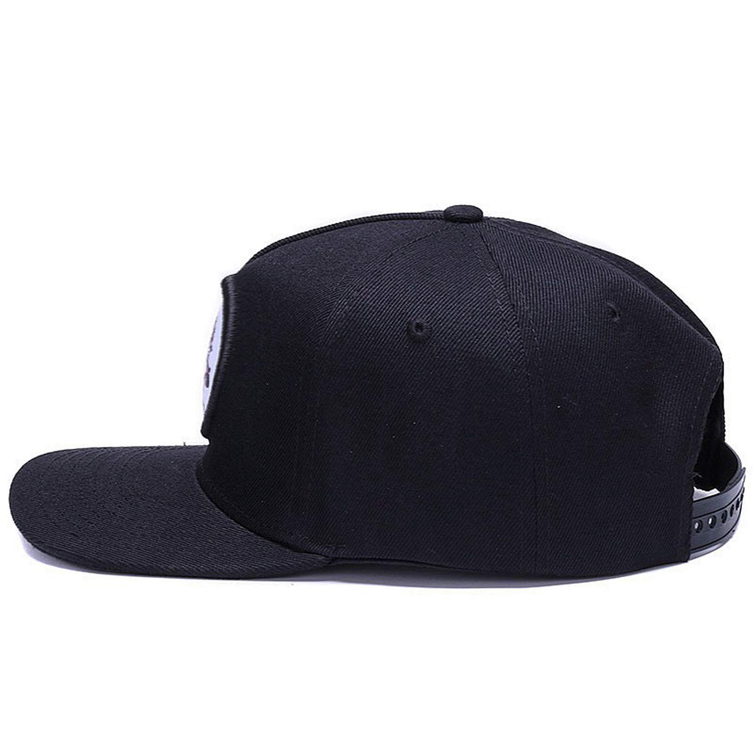 Amazon.com: Original Bone Baseball Cap Snapback Hip hop Hats Gorras Fitted Flat Bill Snapback Cap Black: Clothing