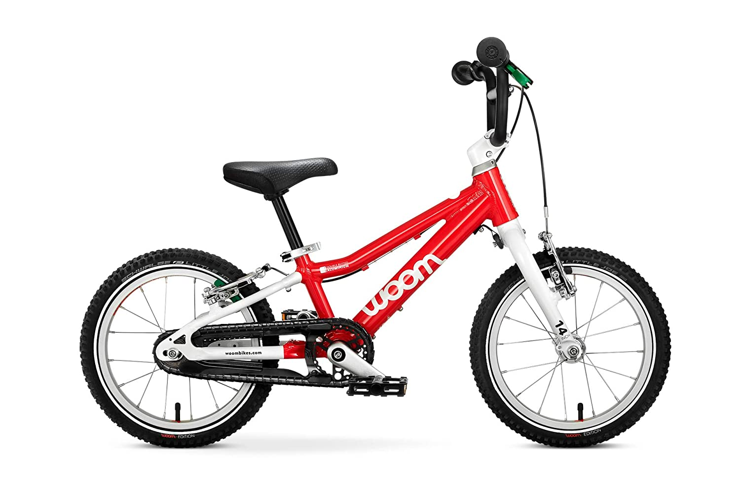 """Woom 2 Pedal Bike 14"""", Ages 3 to 4.5 Years"""