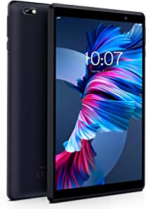 Android Tablet Pritom 8 inch Android 9.0 Pie Tablet, 2GB RAM, 32GB ROM, Quad Core Processor, HD IPS Screen, 2.0 Front + 8.0 MP Rear Camera, Wi-Fi, Bluetooth, Tablet PC(Black)