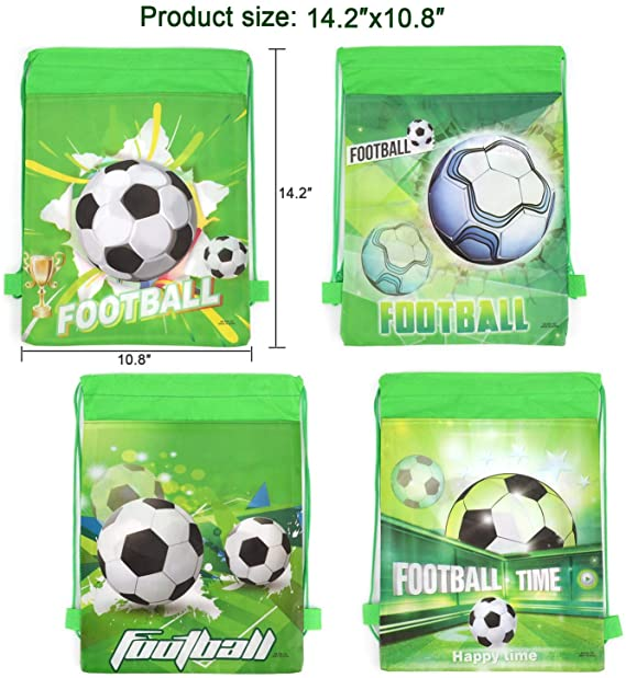 Amazon.com: Konsait - 12 bolsas de fútbol con cordón, para ...