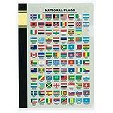 東京カートグラフィック クリアファイル A5 国旗 英語 CFFE