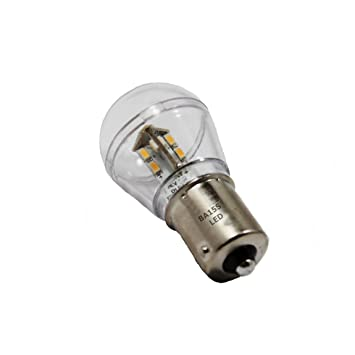 1156 Light Bulb: BA15S Bayonet Base Single Contact 16 SMD 3528 LED Light Bulb 12V S8 93B2  1156 1141,Lighting