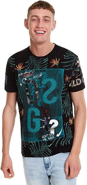 Desigual - Camiseta Cold Hombre Color: 2000 Talla: Size S ...