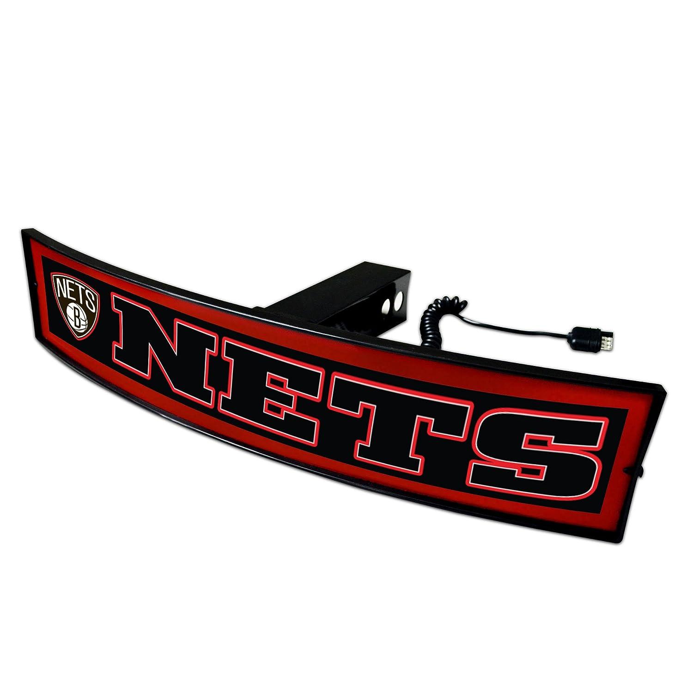 Fanmats NBA Brooklyn Nets Nba – ブルックリンnetslight Up Hitchカバー、チームカラー、1サイズ   B07D4Z6MQR